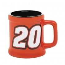 NASCAR SCULPTED MINI-MUG SHOTGLASS