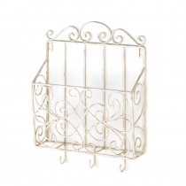 COTTAGE CHARM MAGAZINE RACK