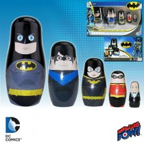DC COMICS BATMAN FAMILY NESTING DOLLS