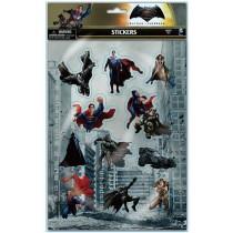 BATMAN V SUPERMAN PUFFY STICKERS