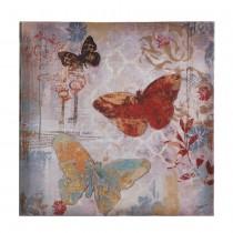 FLYING BUTTERFLIES CANVAS WALL ART