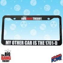 BIG BANG THEORY/STAR TREK 1701-D LICENSE