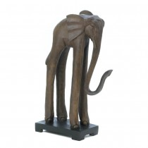 STANDING TALL ELEPHANT STATUE